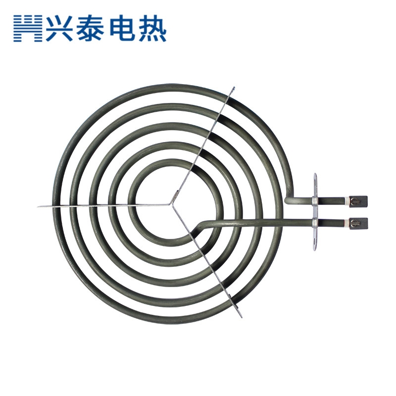 蚊香型电热管