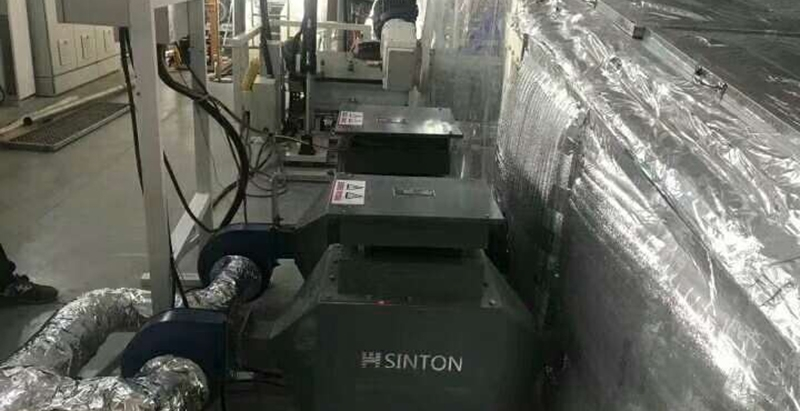 烘房专用风道加热器现场