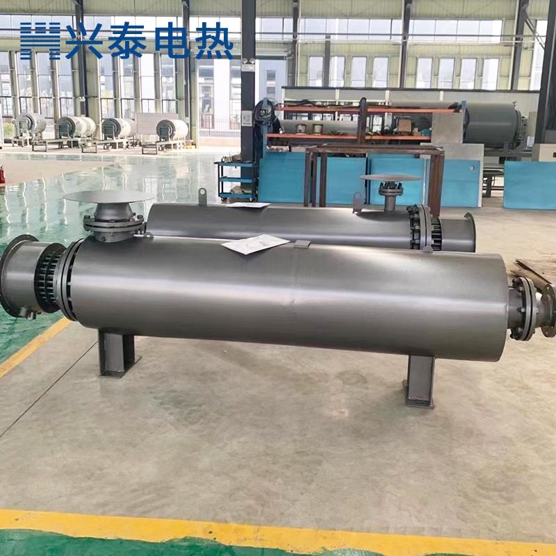 水泥厂专用管道加热器