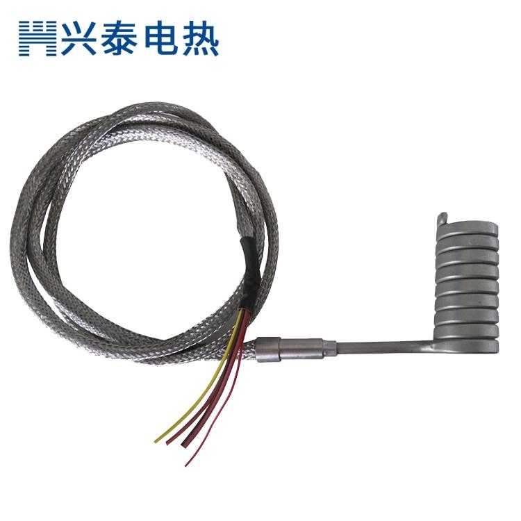 弹簧状电热管